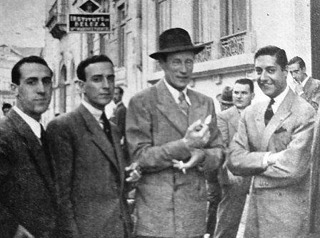Leslie Howard in Spagna, 1943