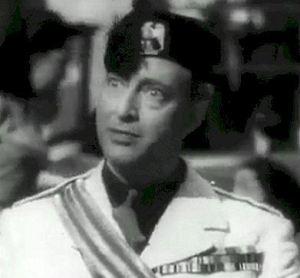 Filippo Del Giudice come Bertorelli, in The First of the Few