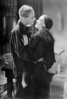 Leslie Howard and Norma Shearer