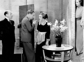 Cedric Hardwicke, Leslie Howard, Virginia Field and Binnie Barnes, The Lady Is Willing