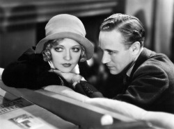 Marion Davies and Leslie Howard