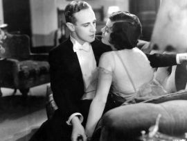 Leslie Howard and Conchita Montenegro in Never the Twain Shall Meet