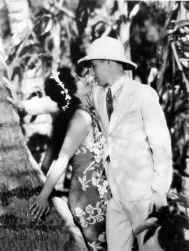 Leslie Howard and Conchita Montenegro