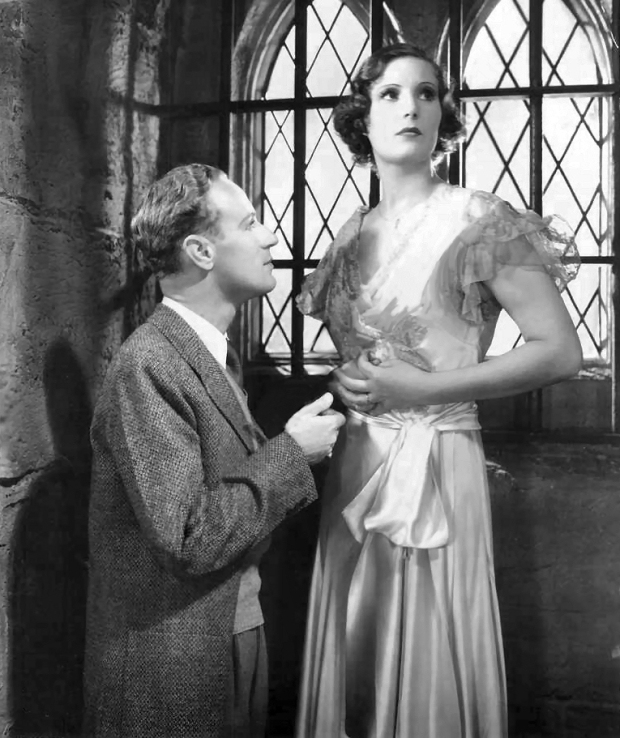 Leslie Howard and Binnie Barnes in The Lady Is Willing 1934
