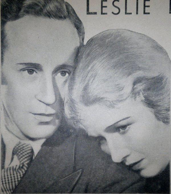 Leslie Howard and Ann Harding in The Animal Kingdom