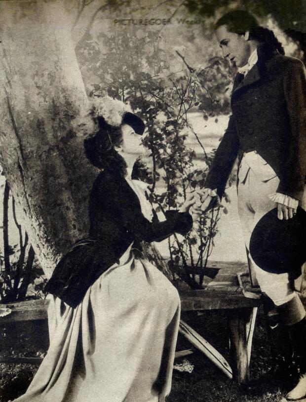 Leslie Howard and Heather Angel in Berkeley Square