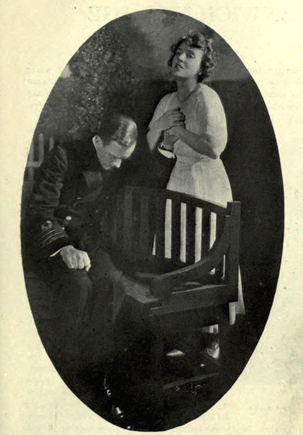 "Geoffrey Kerr and Patricia Collinge in ""Just Suppose"" (Theatre Magazine, January 1921)"
