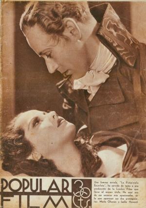 Leslie Howard on Popular Film cover