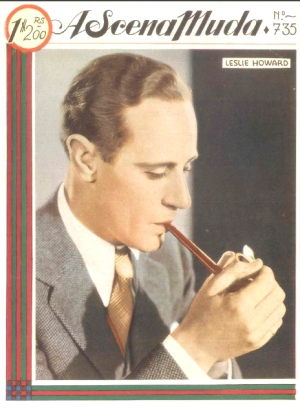 Leslie Howard on A Scena Muda 1935