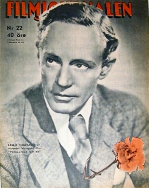 Leslie Howard Cover Filmjournalen