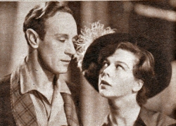 "Leslie Howard and Wendy Hiller in ""Pygmalion"""