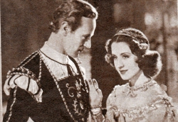 "Leslie Howard and Norma Shearer in ""Romeo and Juliet"""
