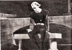 "Leslie Howard in ""Hamlet"""