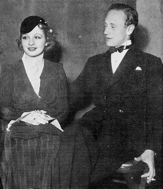 1933 Leslie Howard and Sari Maritza