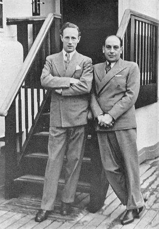 1934 Leslie Howard and Cedric Hardwicke
