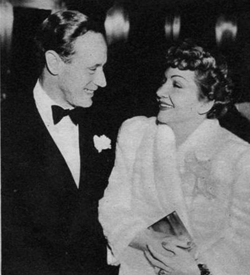 leslie howard claudette colbert