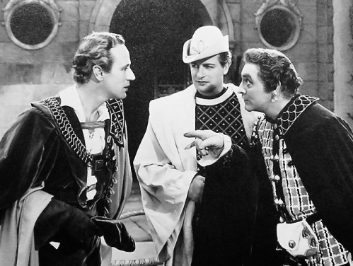 Leslie Howard, Reginald Denny and John Barrymore