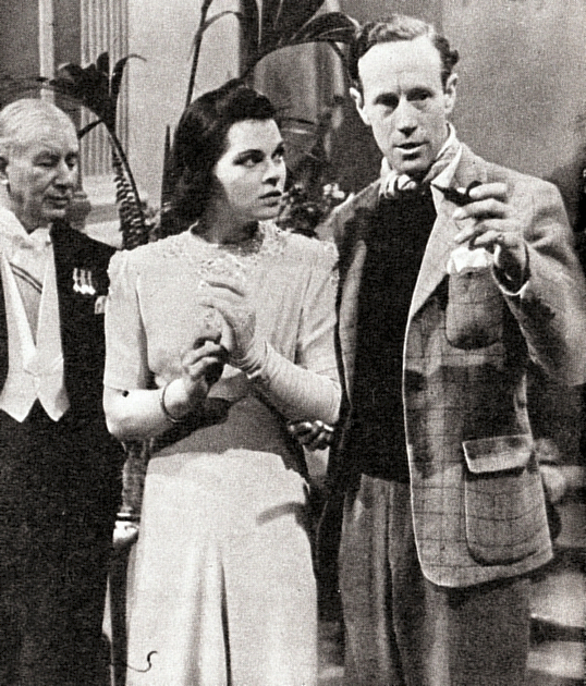 Mary Morris and Leslie Howard