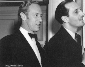 With Basil Rathbone