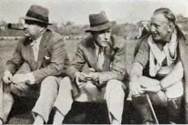 Leslie Howard Nigel Bruce Snowy Baker 1934