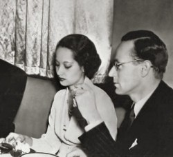 Leslie Howard and Merle Oberon