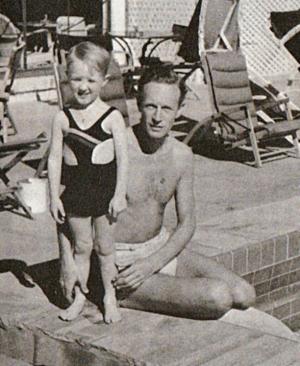 Leslie Howard with Leslie Howard Gargan
