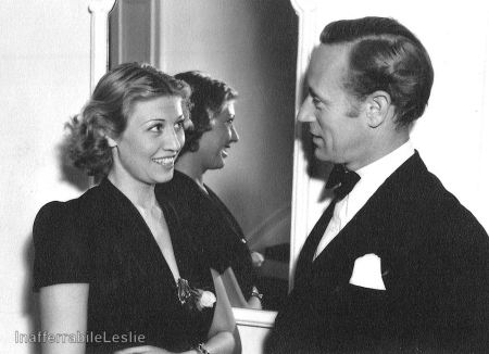 With Violette, 1939