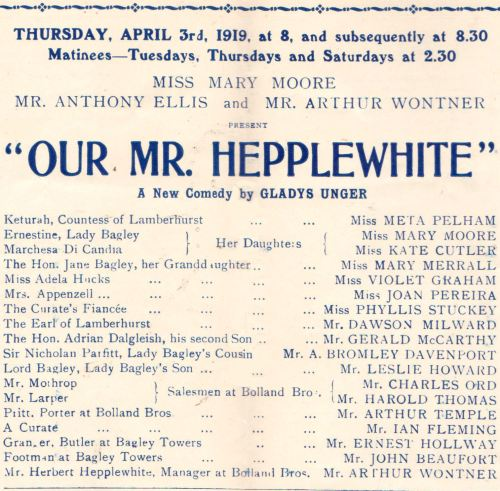 Our Mr. Hepplewhite