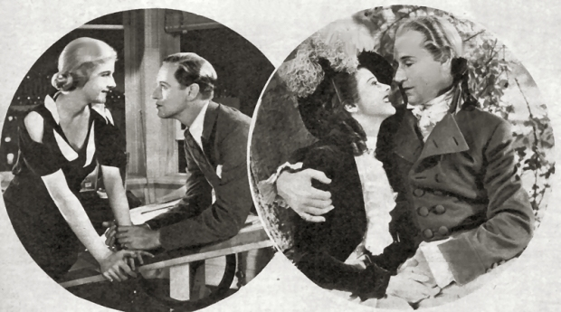 Leslie Howard in The Animal Kingdom and Berkeley Square