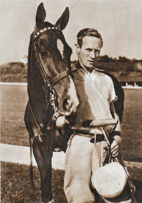 Leslie Howard polo player