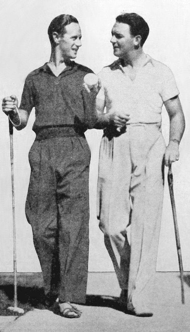 Leslie Howard and William Gargan
