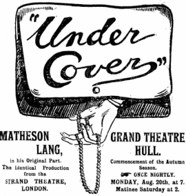 Under Cover, 1917