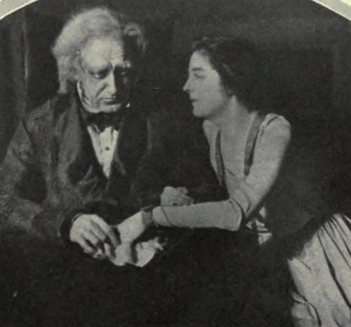 O.P. Heggie and Alexandra Carlisle in The Truth About Blayds