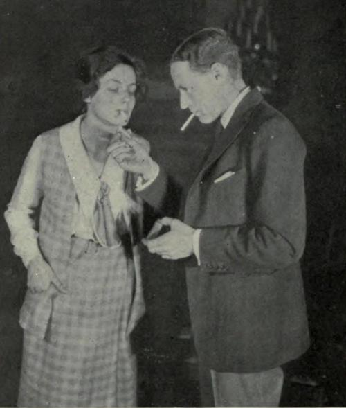 Frieda Inescourt and Leslie Howard in The Truth About Blayds