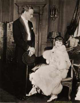 Leslie Howard and Jeanne Eagels, The Cardboard Lover