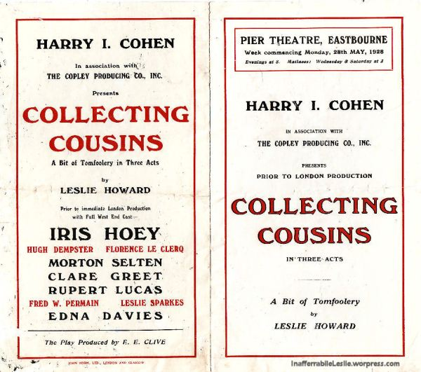 Collecting Cousins, 1928