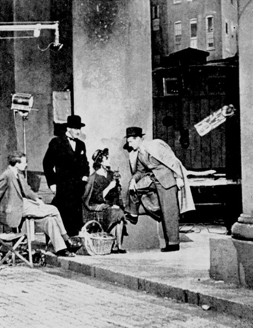 On the set of Pygmalion