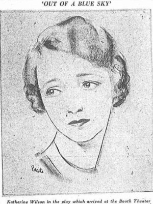 Katherine Wilson in Out of a Blue Sky