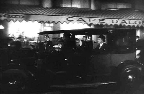 Leslie Howard in Paris at the opening of Of Human Bondage (1934)