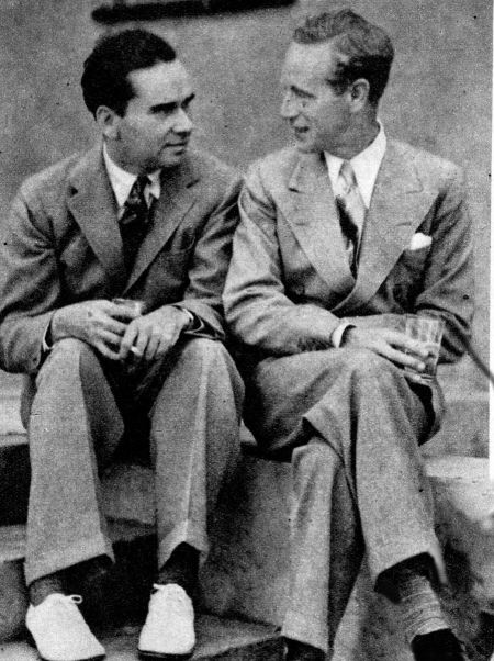William K. Howard and Leslie Howard