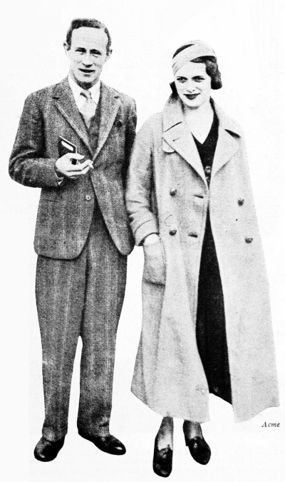 Leslie Howard and Betty Lynne