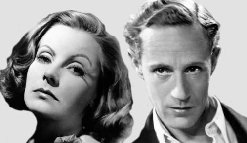 Greta Garbo and Leslie Howard