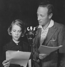 Leslie Howard and his daughter