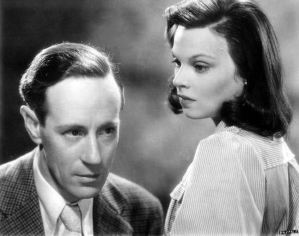 Leslie Howard and Mary Morris in Pimpernel Smith