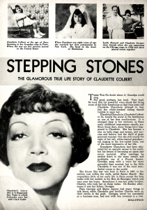 Hollywood, June 1934