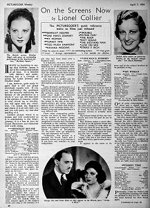 Picturegoer, April 7, 1934