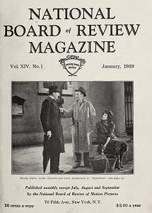 National Board of Review Magazine, January 1939
