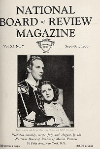 National Board of Review Magazine, September-October 1936