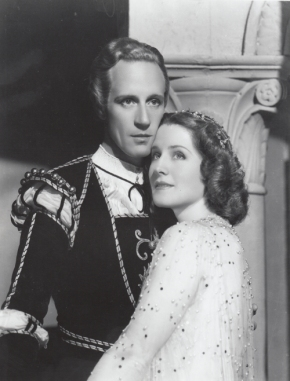 "The most beautiful love story in the world is screened, Norma Shearer and Leslie Howard, as ""Romeo"" and ""Juliet,"" find that all of happiness and all of grief lie within the circle of their arms"